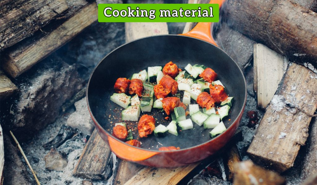 cooking material