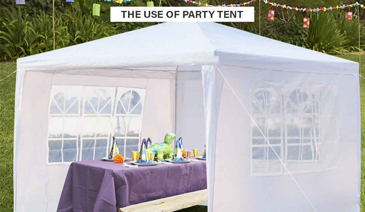 Party Tent   Pay Later Alligator